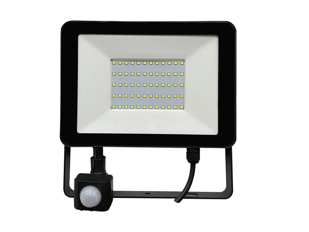 LED naświetlacze z czujnikiem ruchu