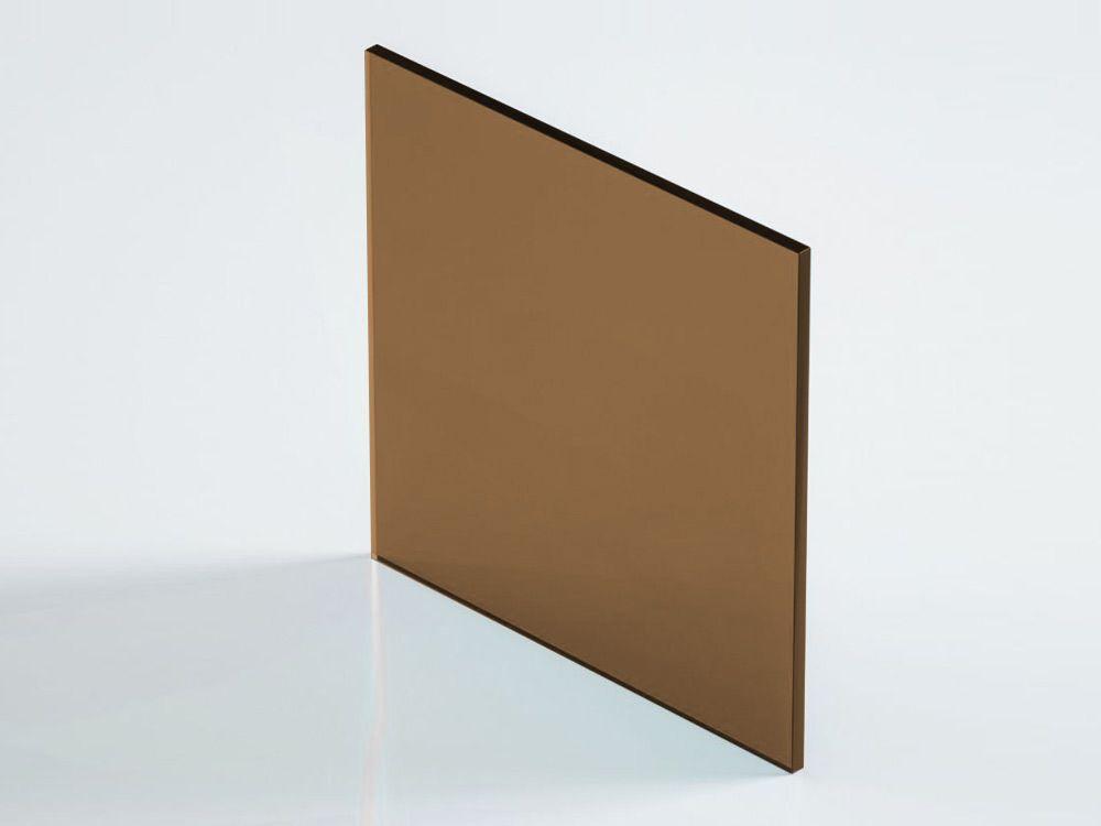 Poliwęglan lity 2UV brązowy 8 mm