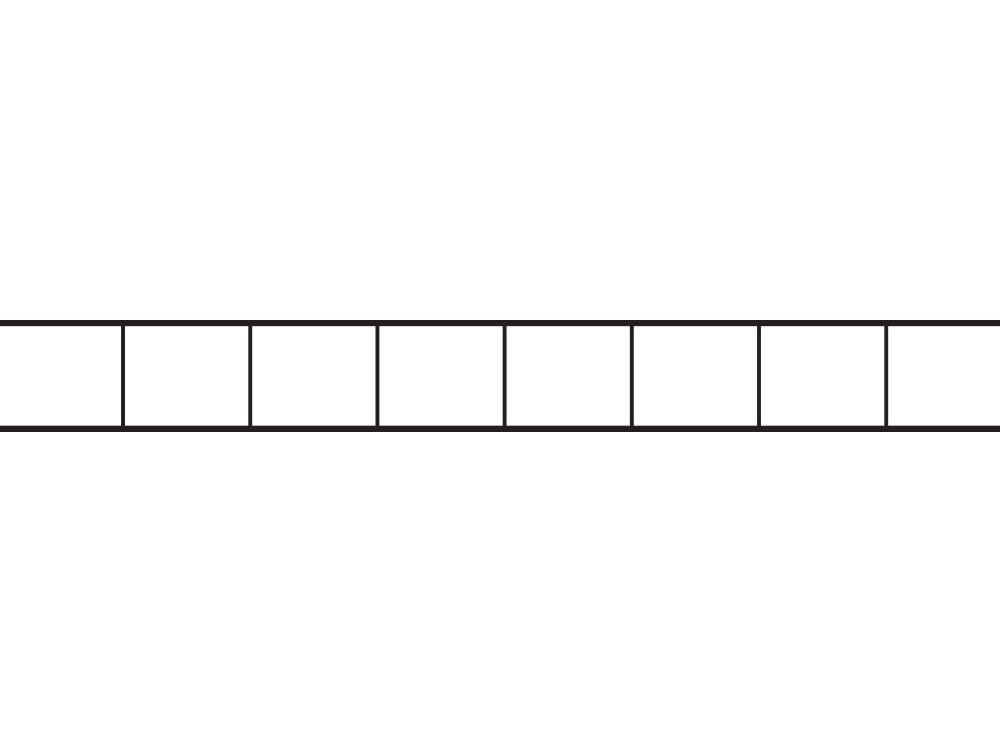 Poliwęglan kanalikowy bezbarwny 8 mm / 2
