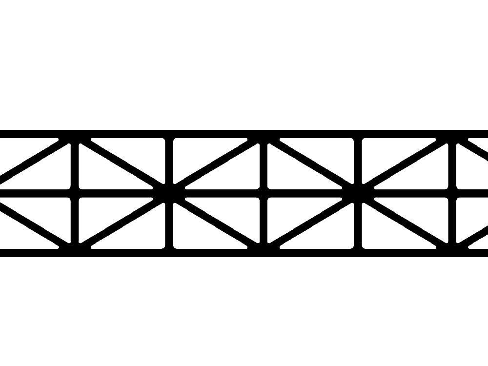 Poliwęglan kanalikowy opal 10 mm / 5X