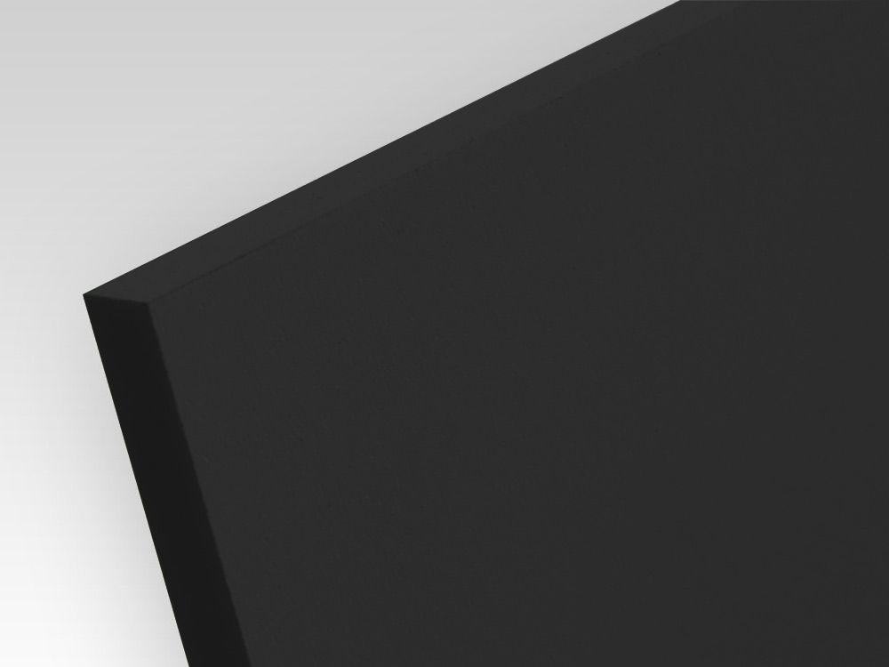 Płyty PCW spienione standard czarny 3 mm