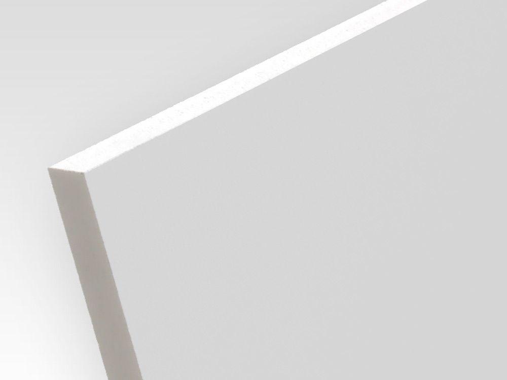 Płyty PCW spienione z utwardzoną powierzchnią biały rdzeń