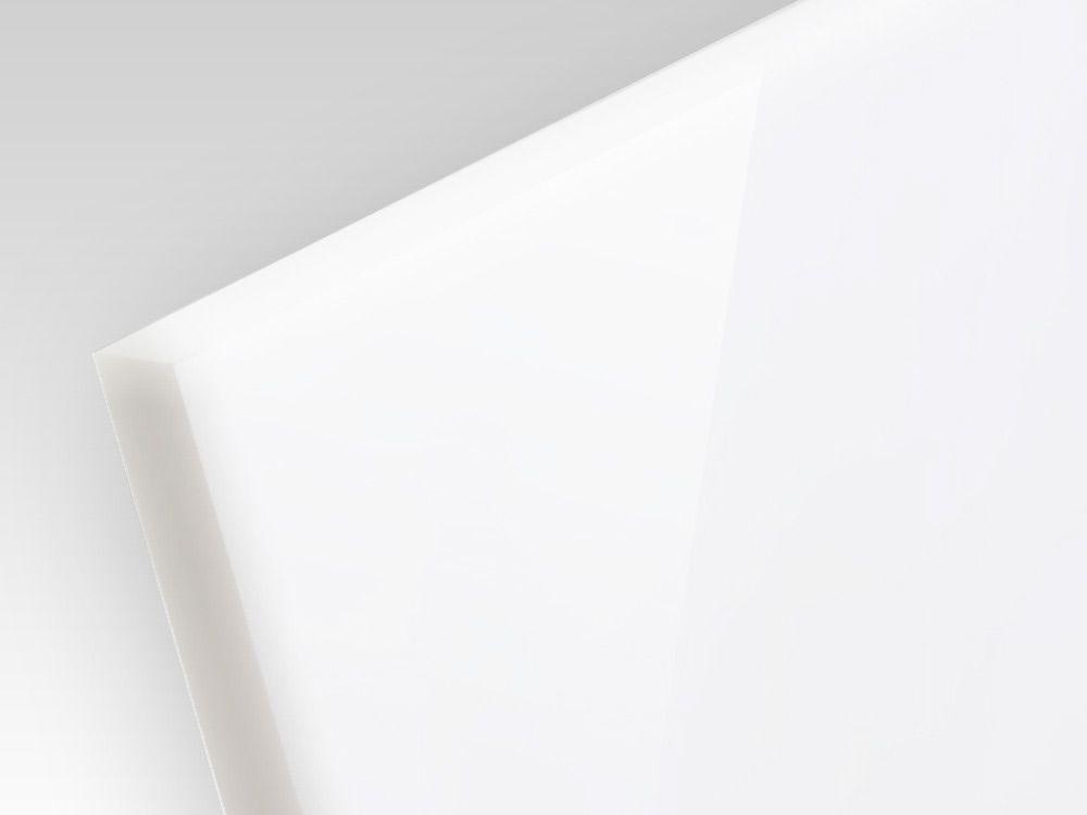 Płyty akrylowe ekstrudowane kolor biały 3 mm
