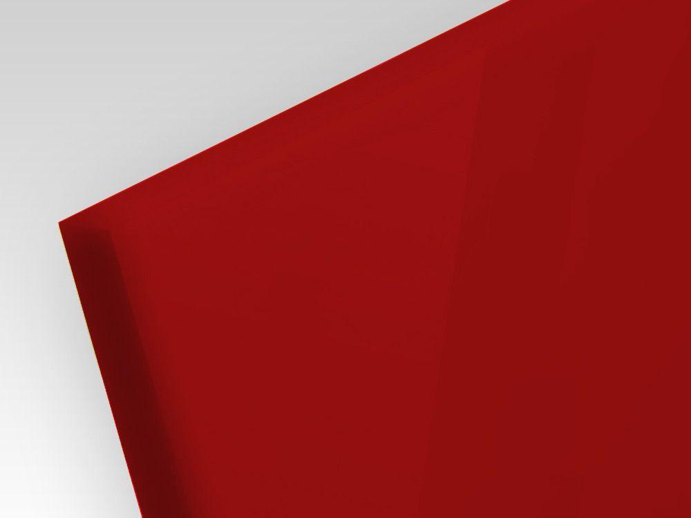 Płyty akrylowe ekstrudowane kolor ciemno czerwony 3 mm