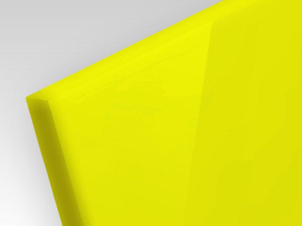Płyty akrylowe ekstrudowane kolor jasno żółty 3 mm