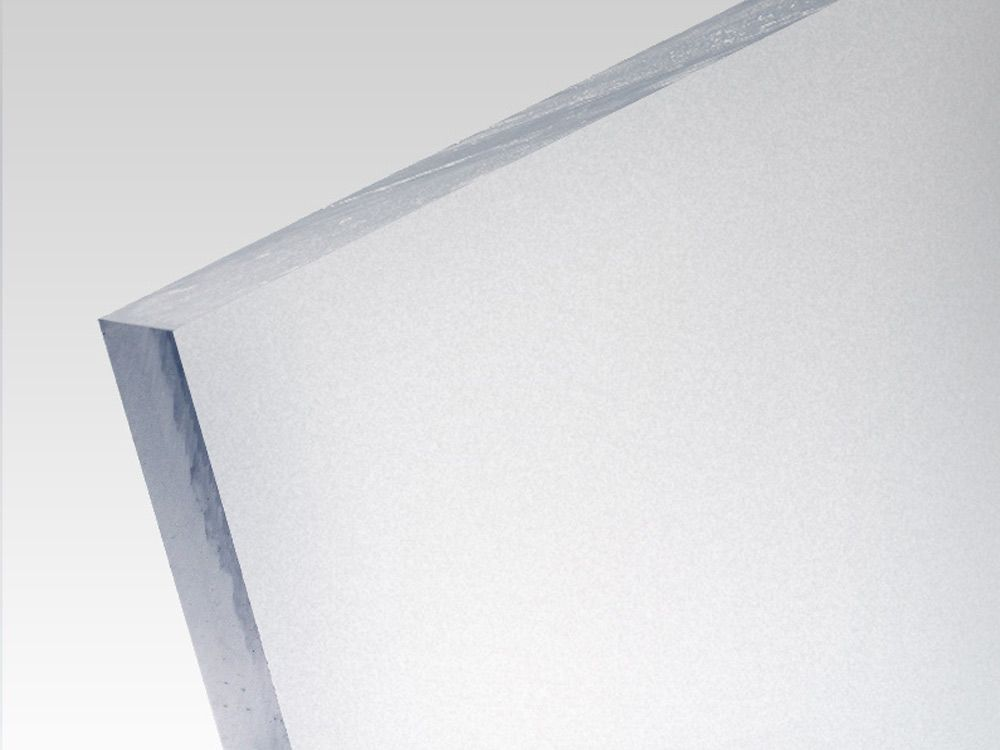 Plexi satynowe bezbarwne 3 mm