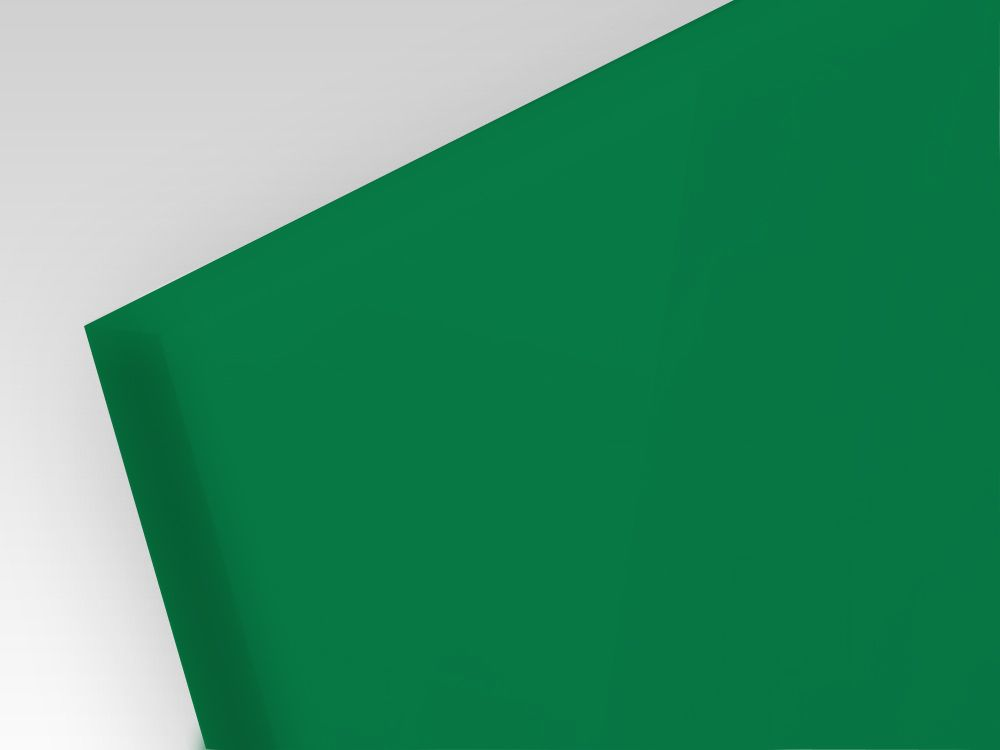 Plexi zielone 3 mm