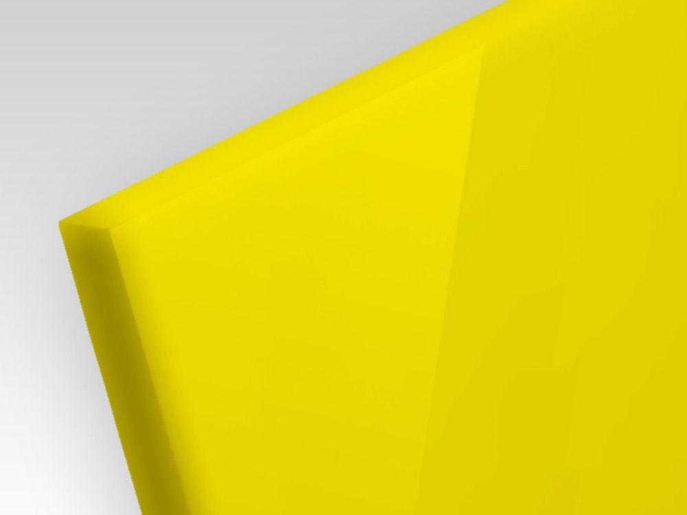 Płyty akrylowe ekstrudowane kolor żółty 3 mm