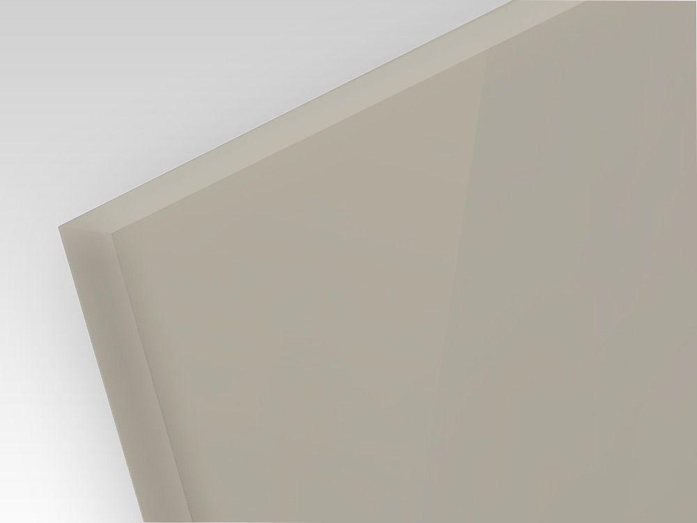 Płyty polipropylenowe lite, struktura gładka PP-H szary 1 mm
