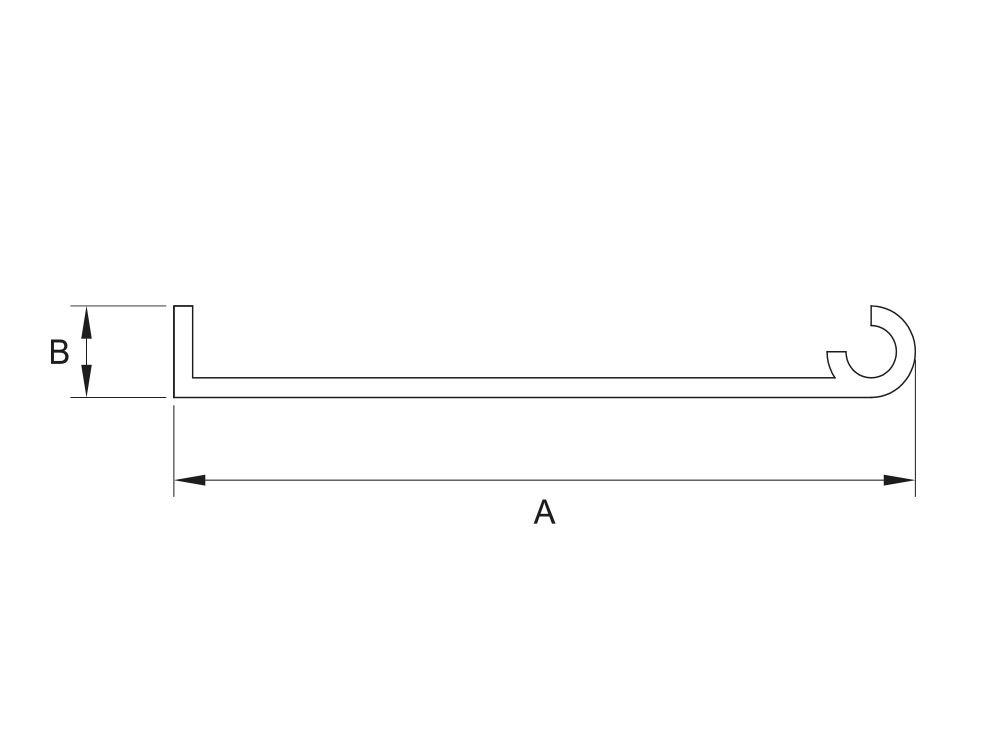 Profil aluminiowy listwa do przegubu