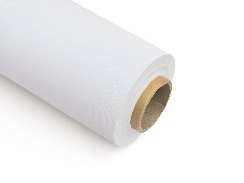Tkaniny do zadruku mesh bez podkładu 340g FR