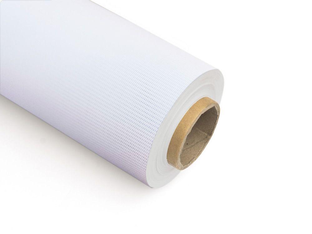 Tkaniny do zadruku mesh z podkładem 380 g FR