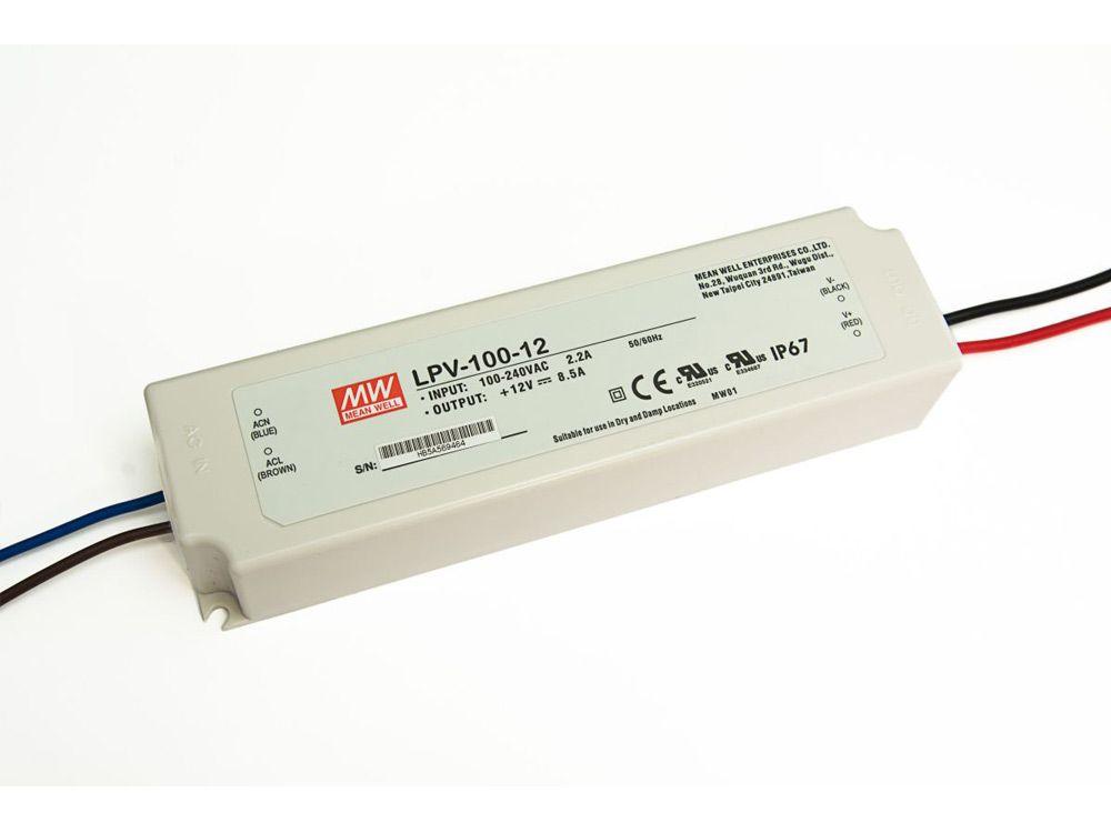 LED zasilacze zewnętrzne 100W