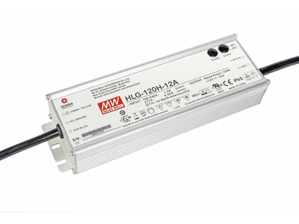 LED zasilacze zewnętrzne 120W