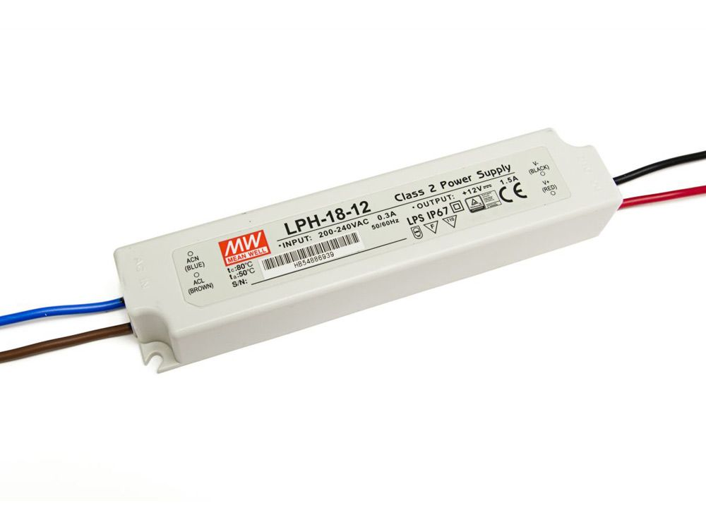LED zasilacze zewnętrzne 18W