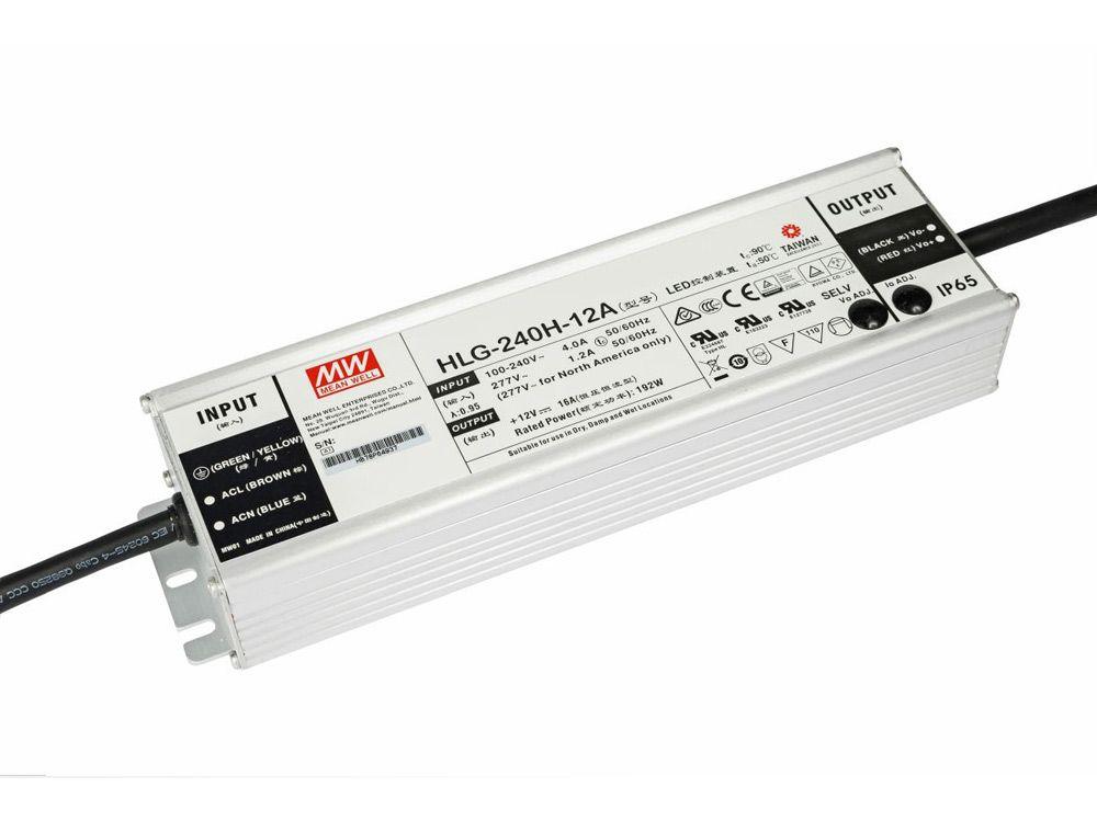 LED zasilacze zewnętrzne 240W