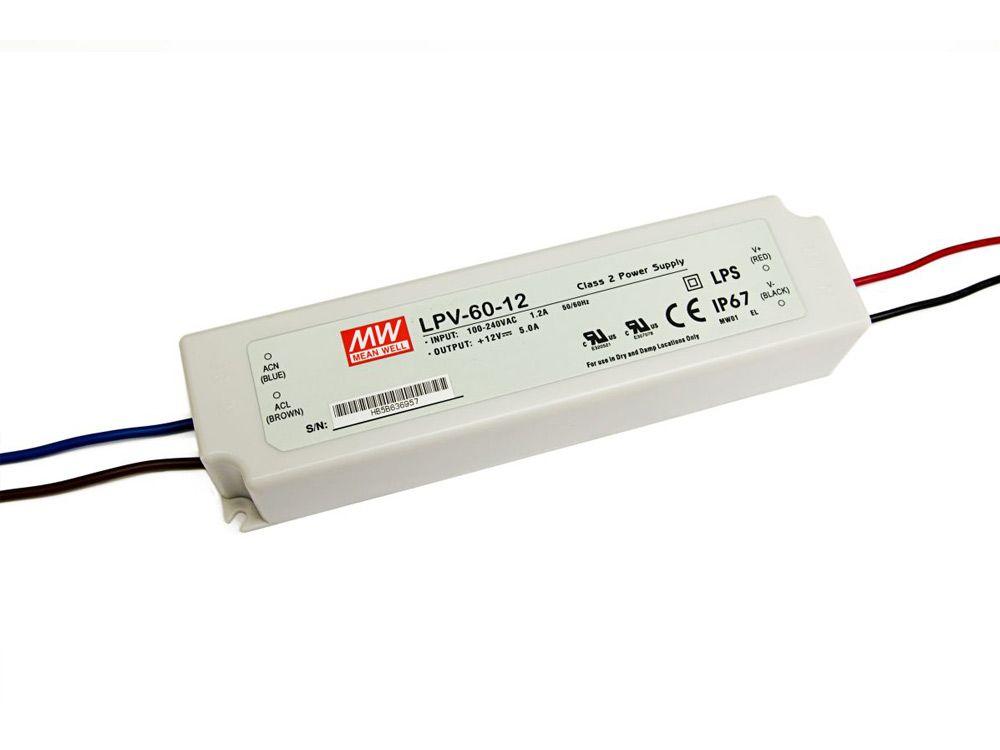 LED zasilacze zewnętrzne 60W